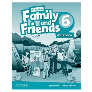 Family and Friends 2nd Edition 6: Workbook