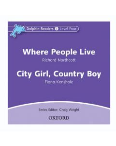 Dolphins, Level 4: Where People Live & City Girl, Country Boy Audio CD