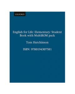English for Life Elementary: Student's Book with MultiROM Pack