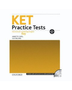 KET Practice Tests Revised Ed: With Key and Audio CD Pack