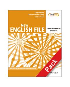 New English File Upper-Intermediate: Workbook with Answer Booklet and MultiROM Pack
