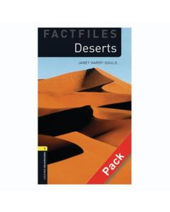 Oxford Bookworms Library Factfiles 1: Deserts Audio CD Pack