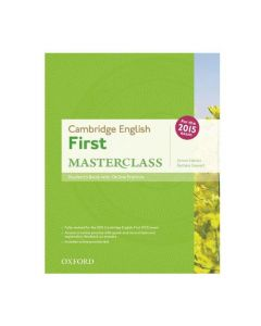 Cambridge English: First Masterclass Student's Book and Online Skills Praktice Pack