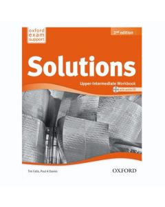 Solutions 2nd Edition Upper-Intermediate: Workbook and CD Pack