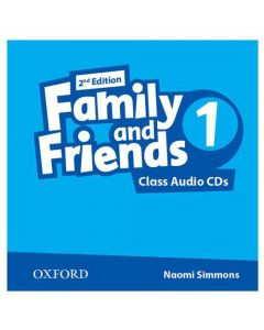 Family and Friends 2nd Edition 1: Class CD (X2)
