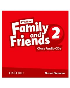 Family and Friends 2nd Edition 2: Class CD (X3)