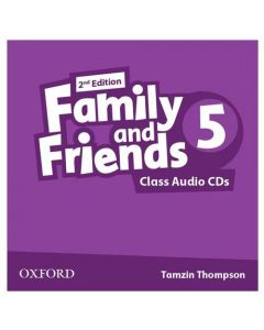 Family and Friends 2nd Edition 5: Class CD (X3)