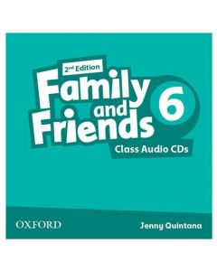 Family and Friends 2nd Edition 6: Class CD (X3)