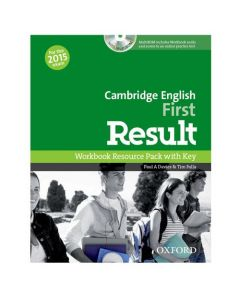 Cambridge English: First Result Workbook with Key and CD