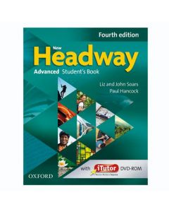 New Headway 4th Edition Advanced Student's Book and iTutor Pack