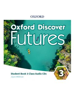 Oxford Discover Futures Level 3 Class Audio CDs