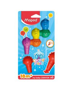 Pastele Maped Baby 6/1 blister MAP863106
