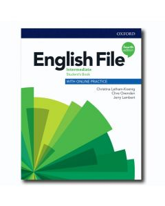 ENG FILE 4E INTERMEDIATE STUDENT'S BOOK+ONLINE PRACTICE
